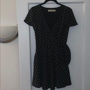 Polka Dot Mini Dress XS